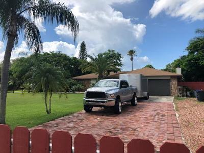West Palm Beach Single Family Home For Sale: 6799 149th Place