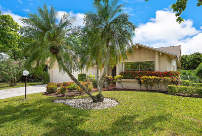 Delray Beach Single Family Home For Sale: 16689 Boca Delray Drive