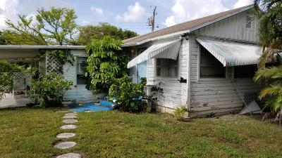West Palm Beach Single Family Home For Sale: 2418 Chickamauga Avenue