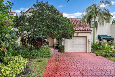 Boca Raton Townhouse For Sale: 6611 Las Flores Drive