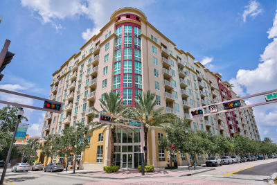 West Palm Beach Condo For Sale: 410 Evernia Street #318