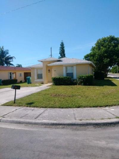 Boynton Beach Single Family Home Contingent: 1050 NW 4th Street