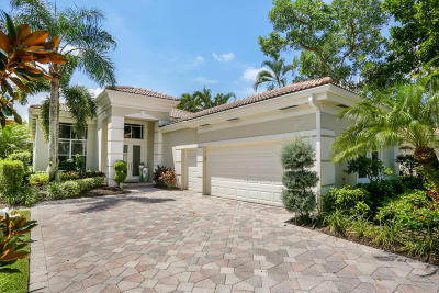 Palm Beach Gardens Single Family Home For Sale: 134 Isle Drive
