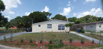 Fort Pierce Single Family Home For Sale: 607 19th N Street