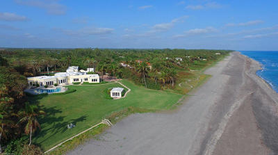 Hobe Sound Single Family Home For Sale: 255 S Beach Road