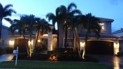 Lake Worth Single Family Home For Sale: 9737 Campi Drive