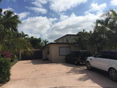 Lake Worth Single Family Home For Sale: 904 Summer Street