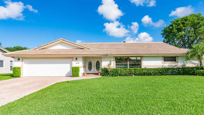 Boca Raton Single Family Home For Sale: 6090 Woodbury Road