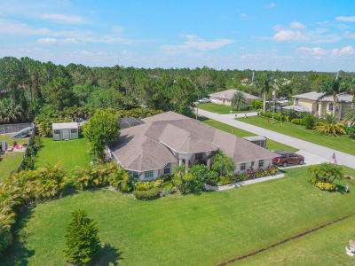 Port Saint Lucie Single Family Home For Sale: 6016 NW Wesley Road