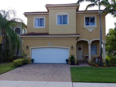 West Palm Beach Single Family Home For Sale: 673 Gazetta Way