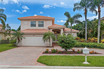 Boynton Beach Single Family Home For Sale: 6885 Cobia Circle