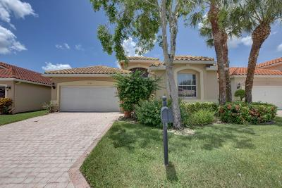 Boynton Beach Single Family Home For Sale: 7233 Catania Drive