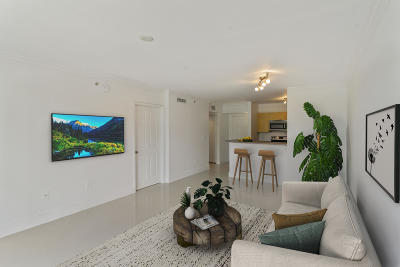 Hollywood Condo For Sale: 1900 Van Buren Street #215b