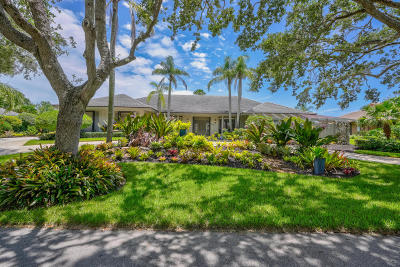 Tequesta Single Family Home For Sale: 18468 SE Heritage Drive