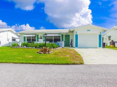 Boynton Beach FL Single Family Home For Sale: $255,000