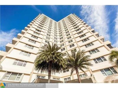 Pompano Beach Condo For Sale: 1200 Hibiscus Avenue #801