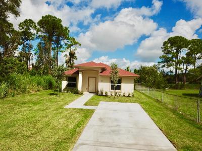 Jupiter Single Family Home For Sale: 6827 Australian Street