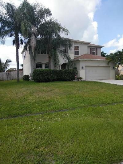 Port Saint Lucie Single Family Home For Sale: 1082 SW Janette Avenue