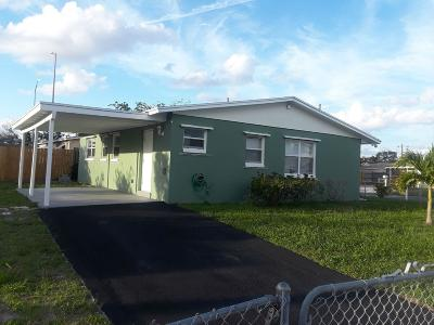Boynton Beach Single Family Home For Sale: 2171 NW 1st Street
