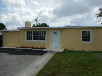 West Palm Beach Single Family Home For Sale: 2336 Fairway Drive