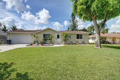 Lake Worth Single Family Home For Sale: 3360 Parade Place