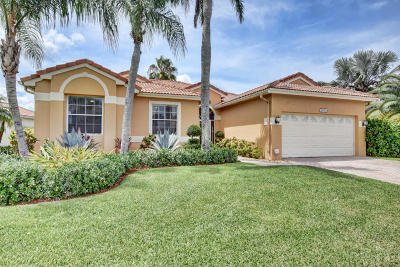 Boca Raton Single Family Home For Sale: 22011 Palm Grass Drive