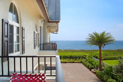 Delray Beach Townhouse For Sale: 1835 S Ocean Boulevard #I