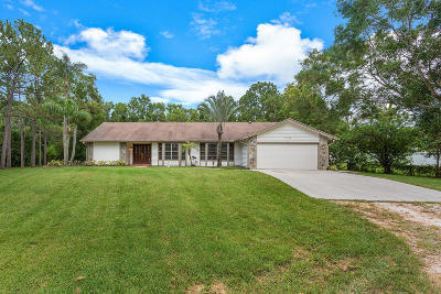 Jupiter Single Family Home Contingent: 17762 122nd Drive