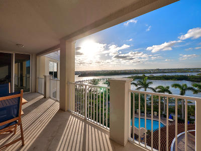 Jupiter Yacht Club Condo For Sale: 700 S Us Highway 1 #505