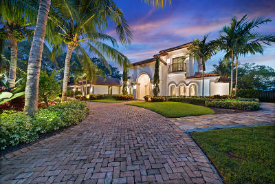 Boynton Beach Single Family Home For Sale: 4816 S Lake Drive