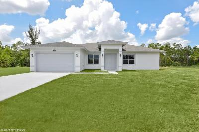 West Palm Beach Single Family Home For Sale: 5840 Royal Palm Beach Blvd Boulevard