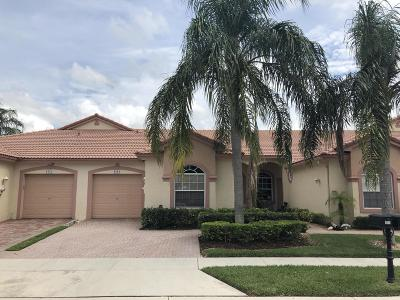 Boca Raton Single Family Home For Sale: 8566 Via Serena