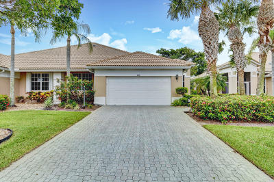 Boynton Beach Single Family Home For Sale: 6874 Swansea Lane