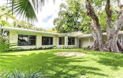 Miami Single Family Home For Sale: 3480 Poinciana Avenue