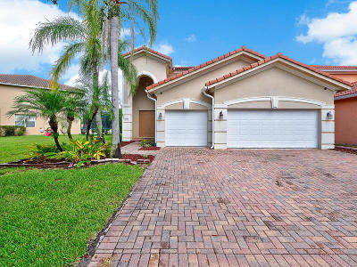 West Palm Beach Single Family Home For Sale: 6874 Aliso Avenue