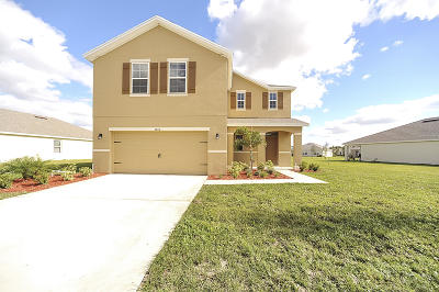 Fort Pierce Single Family Home For Sale: 3044 Woodswalk Drive