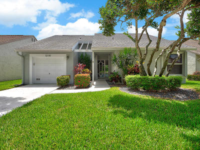 Boynton Beach Single Family Home For Sale: 12166 Country Greens Boulevard