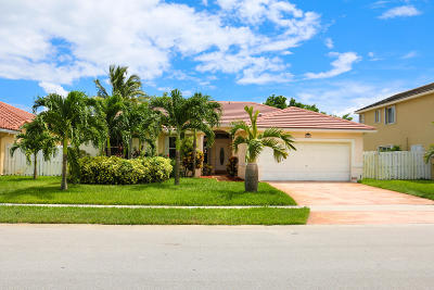 Pembroke Pines Single Family Home For Sale: 18804 NW 23 St Street