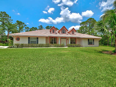 West Palm Beach Single Family Home For Sale: 15589 93rd Street
