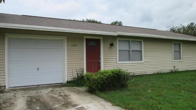 Port Saint Lucie Single Family Home For Sale: 1642 SW Import Drive