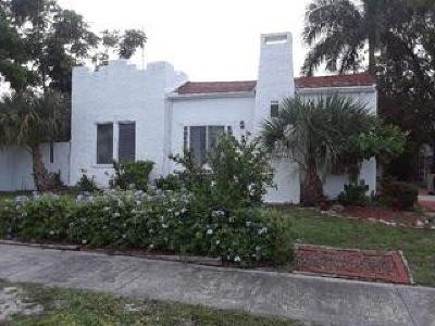 Lake Worth Single Family Home For Sale: 238 Fordham Drive #1
