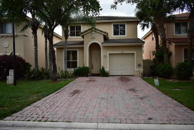 West Palm Beach Single Family Home For Sale: 4181 Winnipeg Way
