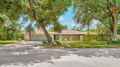 West Palm Beach Single Family Home For Sale: 1856 Emilio Lane