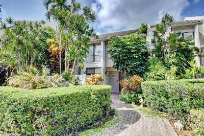 Boca Raton Townhouse For Sale: 2106 Bridgewood Drive #2106