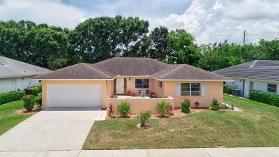 Boynton Beach Single Family Home For Sale: 10982 Green Trail Drive S