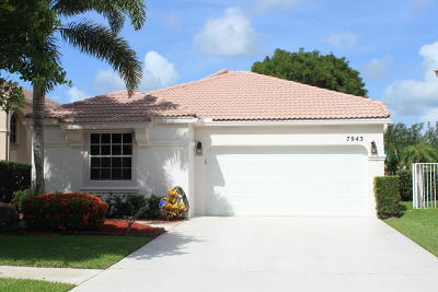 Lake Worth Single Family Home For Sale: 7943 Rockport Circle
