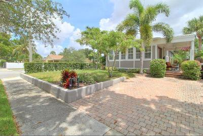 West Palm Beach Single Family Home For Sale: 859 Sunset Road