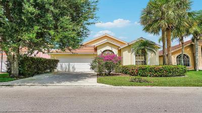 Lake Worth Single Family Home For Sale: 7553 Oakboro Drive