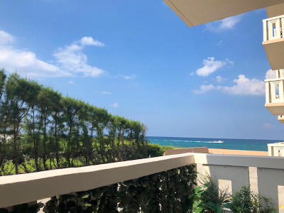 Palm Beach Condo For Sale: 3450 S Ocean Boulevard #1050