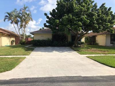 West Palm Beach FL Single Family Home For Sale: $234,900